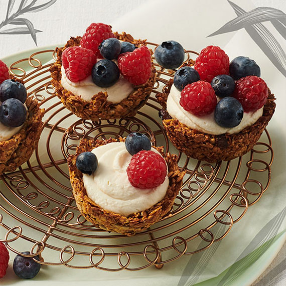 Granola Cups selbstgemacht