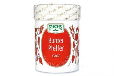 Fuchs bunter Pfeffer ganz