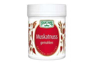 Fuchs Muskatnuss gemahlen