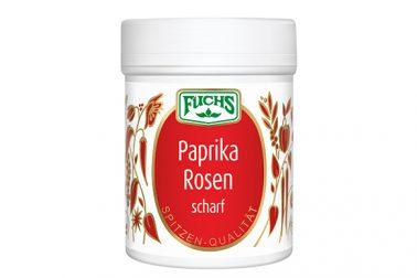 Paprika Rosen scharf