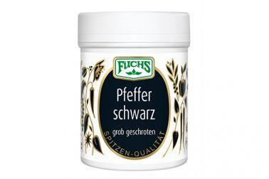 Fuchs Pfeffer schwarz gemahlen