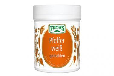Pfeffer weiß gemahlen