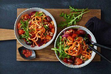 Süßkartoffel-Spaghetti