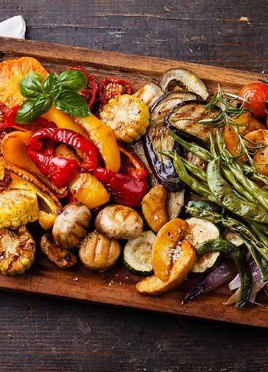 Vegetarische Grillplatte