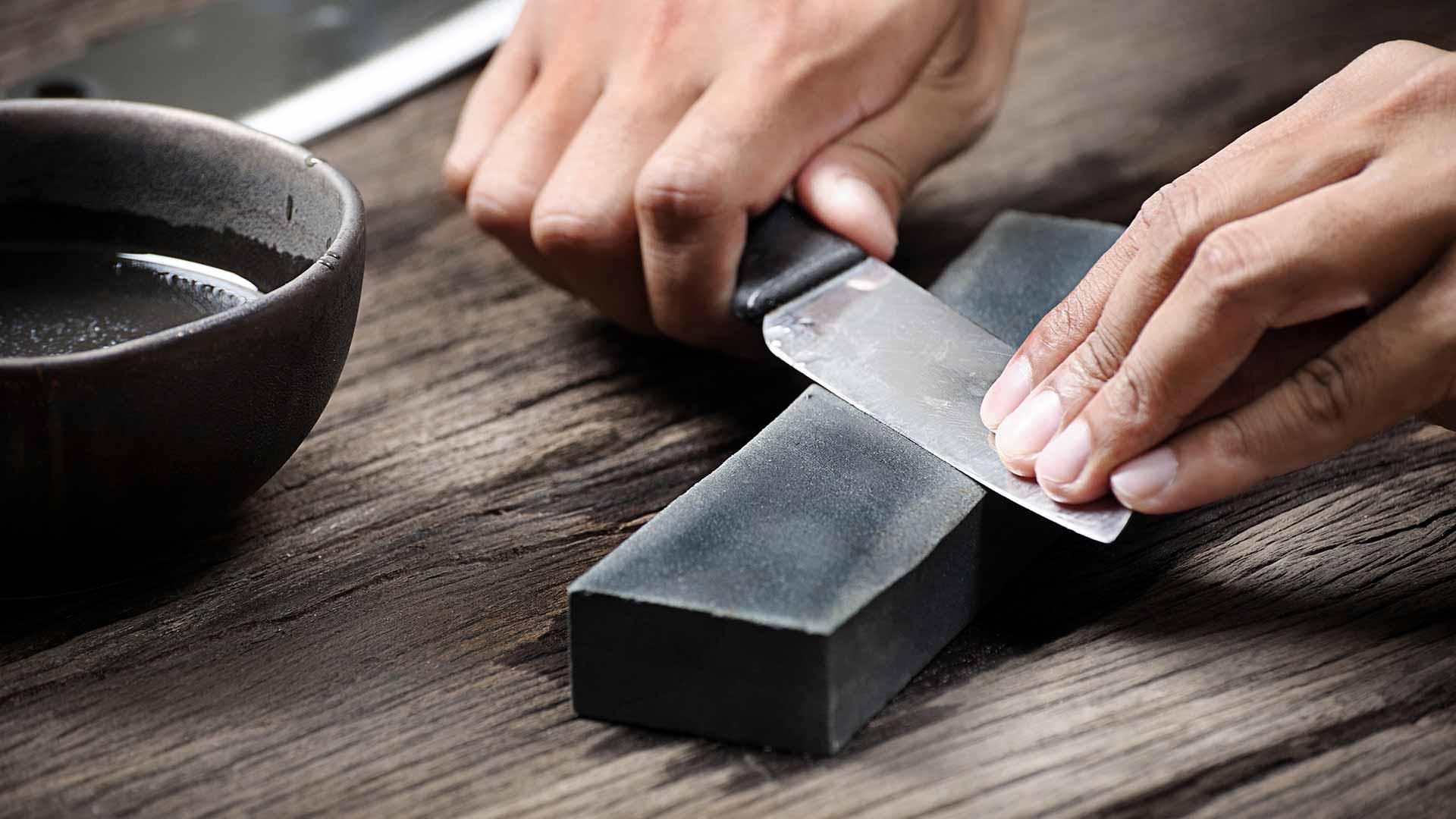 Anleitung zum Messerschärfen