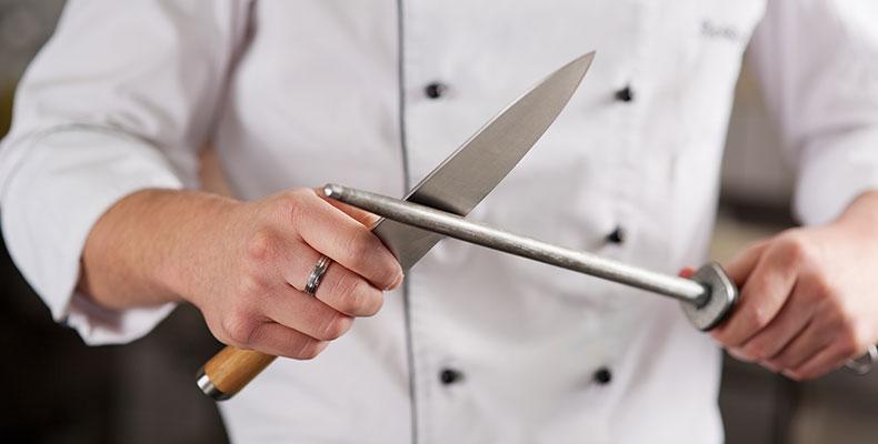 Relativ Messer selber schärfen wie die Profis | Fuchs Gewürze TE37