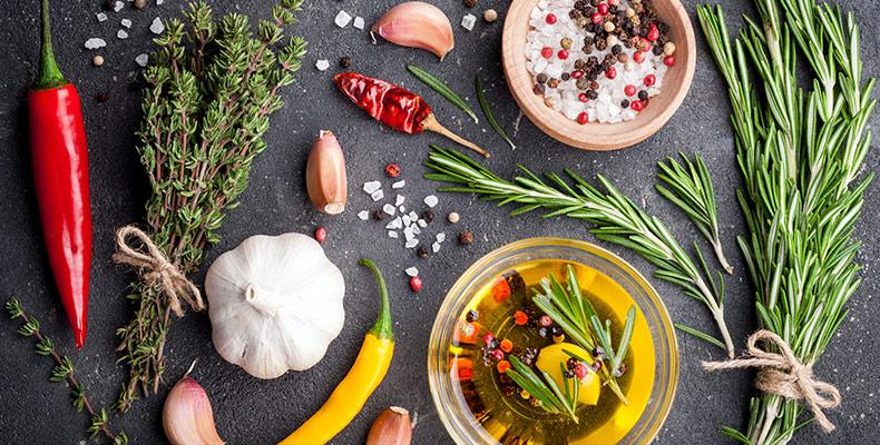 Aromaöle in der Küche