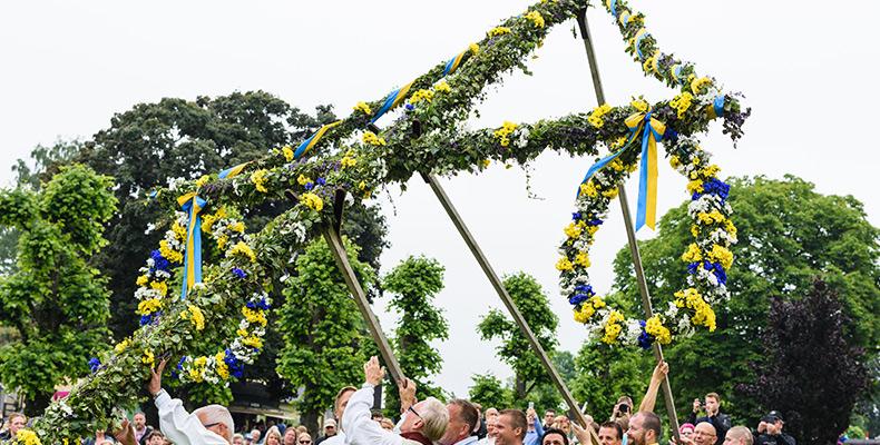 Skandinavien feiert Mittsommer