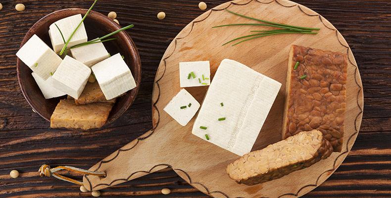 gewürzter Tofu