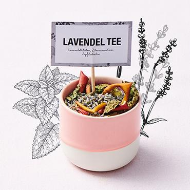 Lavendel-Tee-Mischung