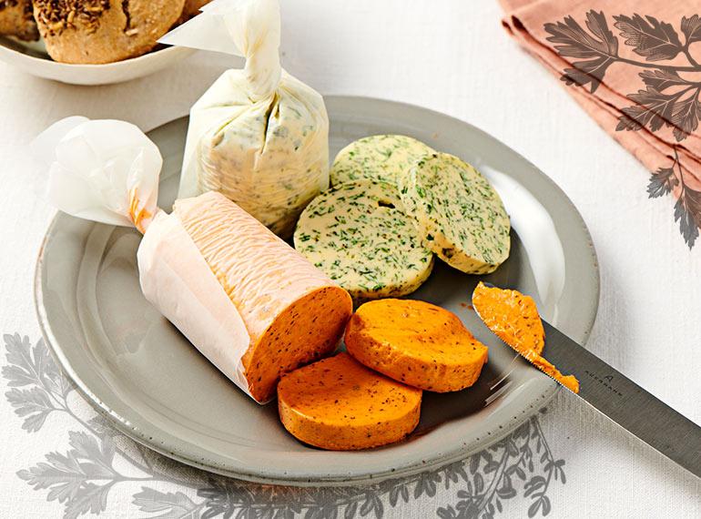 Tomaten-Paprika-Butter