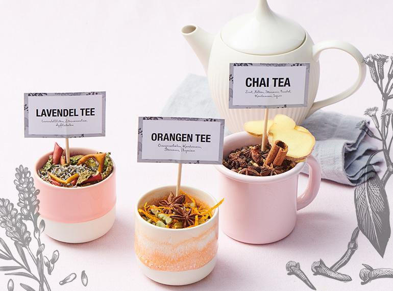 Tee-Mischungen selber machen