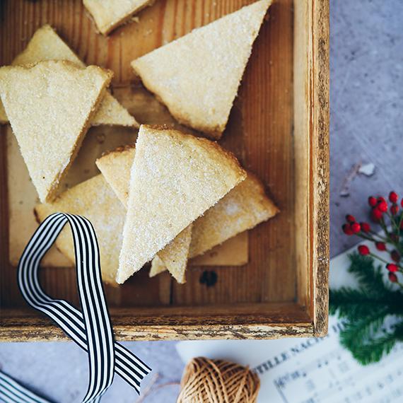 Gebäck Advent Weihnachten Shortbread