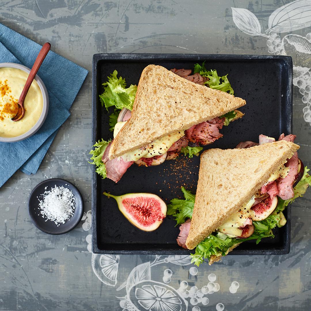 Pfeffer-Roastbeef-Sandwich